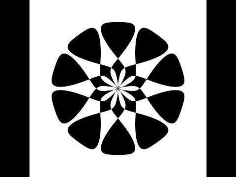 Math Art - Music Visualizer (simple shape) - YouTube