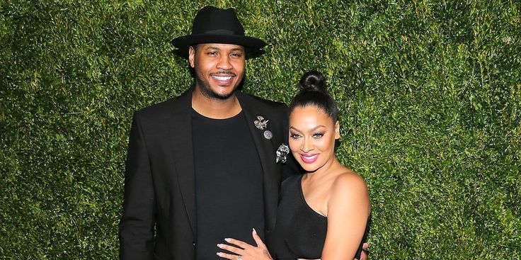 Sounds Like Carmelo And La La Anthony Aren't Quite Done With Each Other Yet