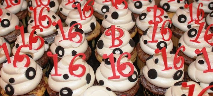 Cupcake Decorating Ideas For Sweet 16 : 30 Best images about Sweet 16 on Pinterest Sweet sixteen ...
