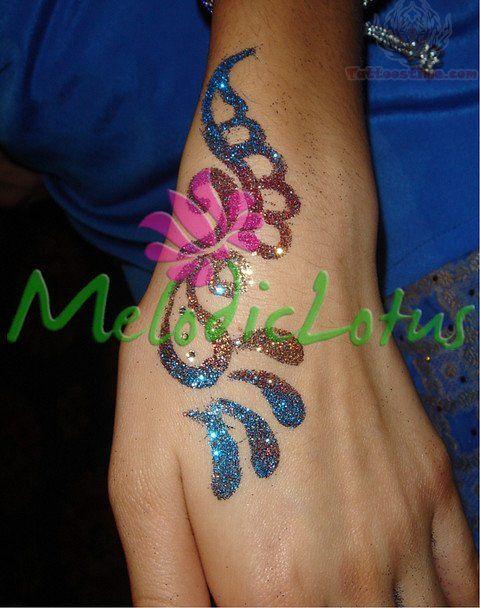 Colored Henna Tattoo: 31 Best Colored Mermaid Henna Tattoo Images On Pinterest