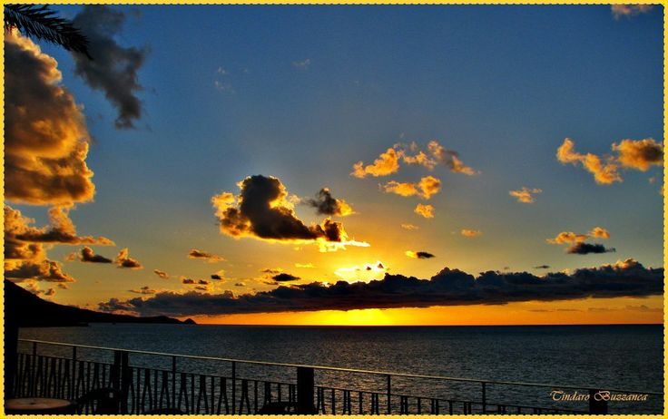 """Sunset at """"Canapè"""" in Gioiosa Marea- province of Messina-Sicily"""