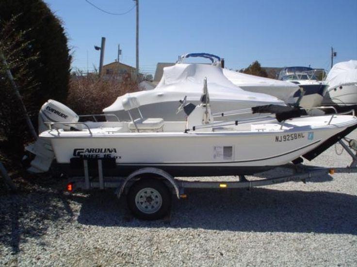 Carolina Skiff 15' 2010 Used Boat for Sale in Brant Beach, New Jersey ...