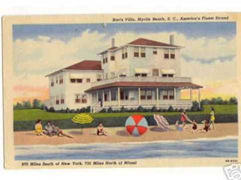 Mom and Pop Inns along Myrtle Beach's Grand Strand in the good ole days!
