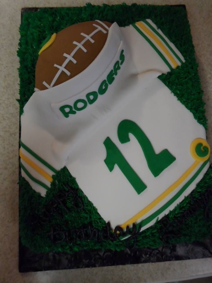 39 Best My Greenbay Packers Birthday Cakes Images On Pinterest