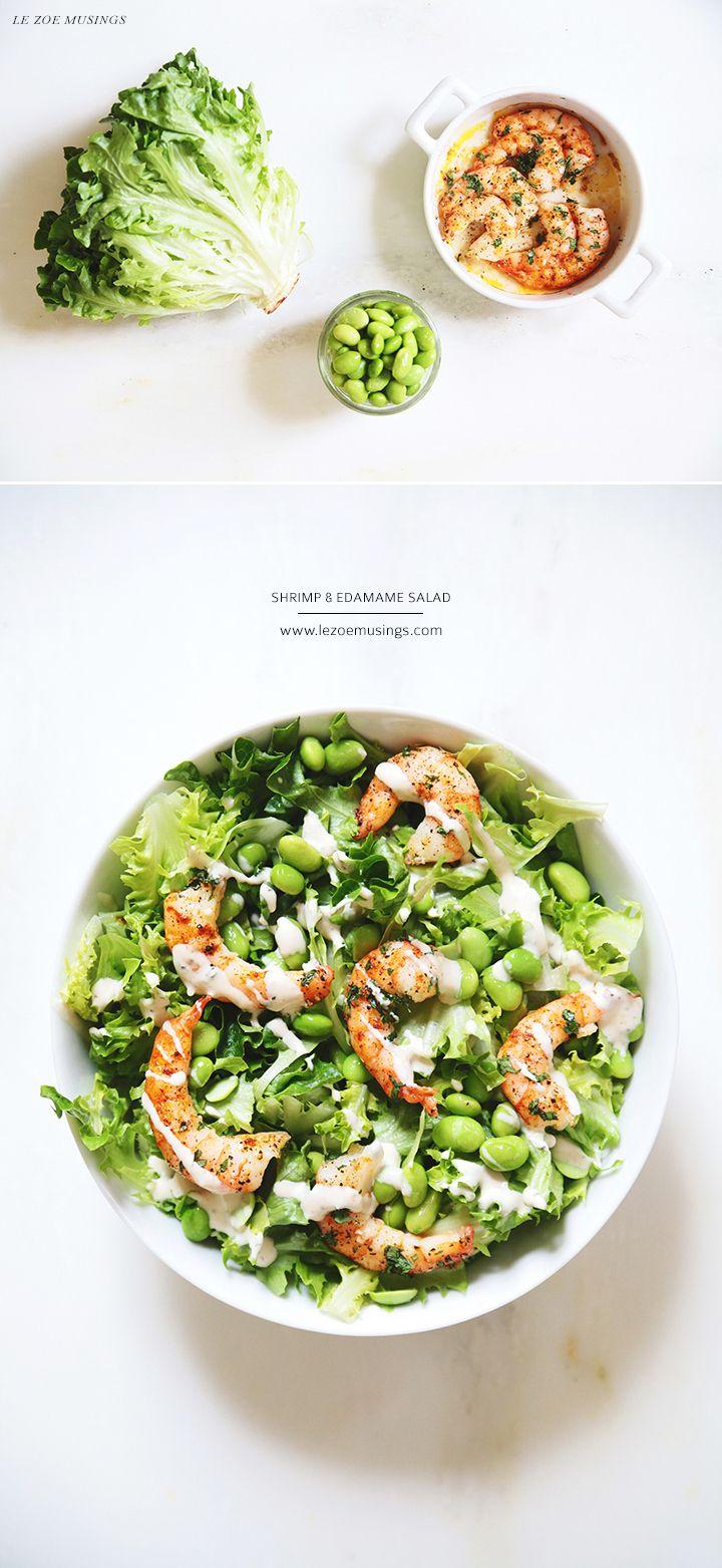 Shrimp and Edamame Salad