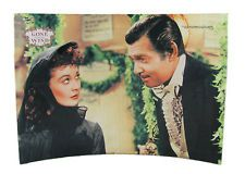 """Gone with the Wind Movie StarFire Print 10 """"x 7"""" Curved Glass Presentation"""