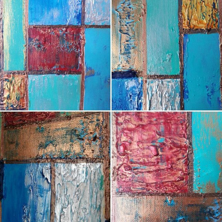 "Work in progress 16x20"" #closeups #sneakpeek #wip #workinprogress #texture #abstraction #texture_art #texturedart #metallic…"