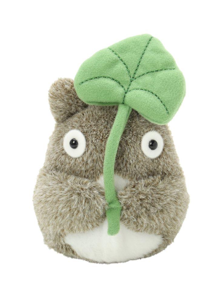 "Studio Ghibli My Neighbor Totoro 6"" Leaf Totoro Plush | Hot Topic"