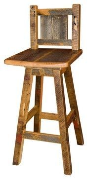 Rustic Furniture Portfolio Rustic Chairs Other Metro Rory S Rustic Furniture Pallet Bar Stoolspallet