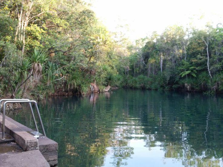 Day 9: Batchelor to Darwin via Berry Springs
