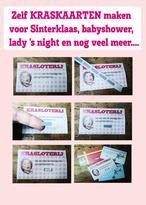 Kraskaartstickers...  Maak zelf kraskaarten voor bijvoorbeeld sinterklaas, babyshowers, lady's night, kado acties, loterijen of maak van je kerstkaarten kraskaarten met kraskaartstickertjes!!!!