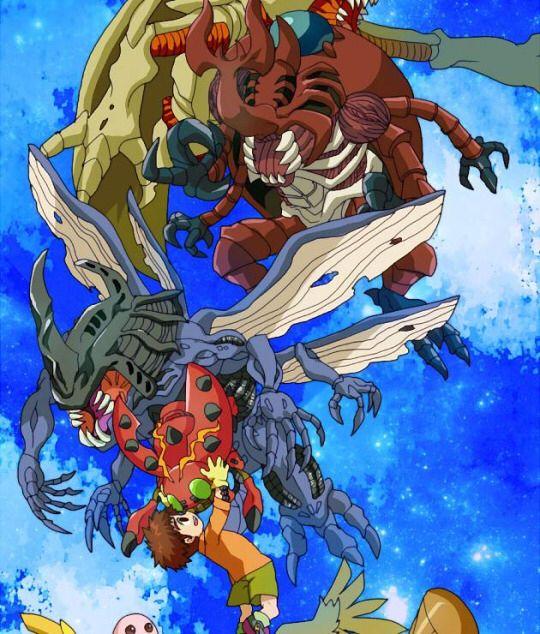 Digimon Adventure: Koushiro (Izzy) with Tentomon's Evolutions