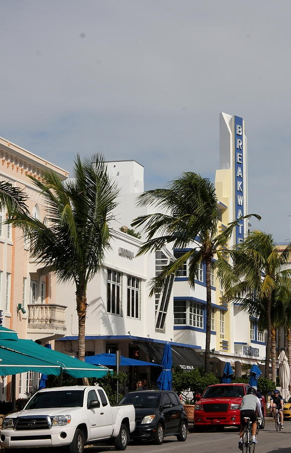 The Breakwater Miami Florida Beach Historic Art Deco District
