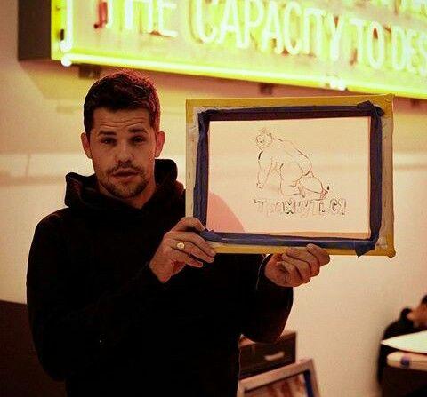 Charlie Carver Insta photo But in photo:Max Carver