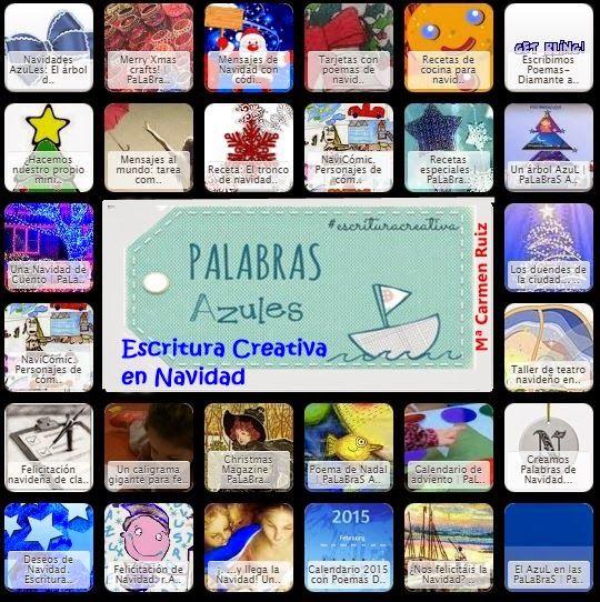 Symbaloo: Recursos escritura creativa en Navidad, en Palabras Azules | PaLaBraS AzuLeS