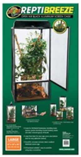 Reptile Supplies 1285: Reptibreeze Open Air Aluminum Screen Cage, No. Nt-12 BUY IT NOW ONLY: $77.99