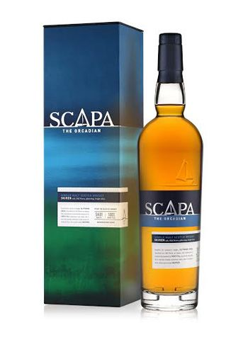 Scapa 16y.o. · Island Single Malt Scotch Whisky Distillery Bottling The initially controversial 16yo official expression of Scapa is now winning people round with a jump in quality after a few wobbly years following the rapid transition from the much-loved 12yo via the short-lived 14yo. Orkney's less shouted about (but still lovely in its own way) malt whisky has found its feet.