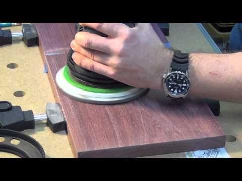 Festool Rotex RO 150 Sanding To A Polish - YouTube