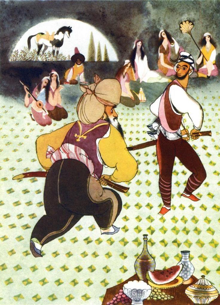 çizgili masallar: Tales from the Arabian Nights by Jiri Trnka