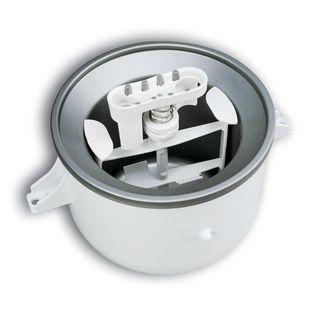 KitchenAid KICA0WH White Ice Cream Bowl Attachment | Turn your KitchenAid mixer into an ice cream maker with this attachment