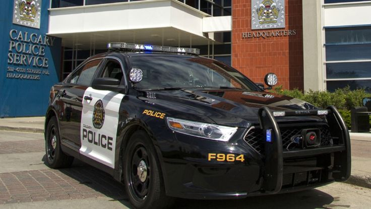 Calgary police return to 'roots' with black and white car ...