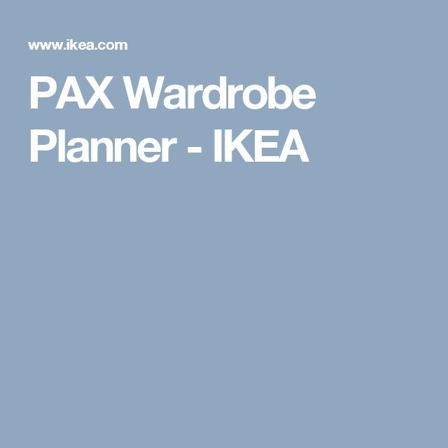 PAX Wardrobe Planner - IKEA