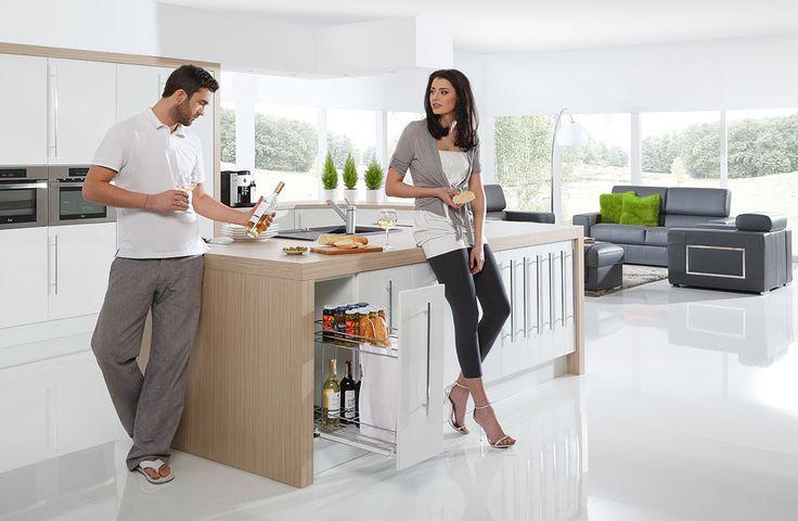 Latem czasem warto zaszyć się w swojej kuchni i skorzystać z czasu tylko we dwoje.