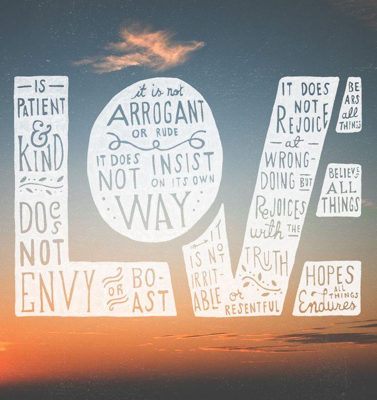 1 Corinthians 13: 4-7
