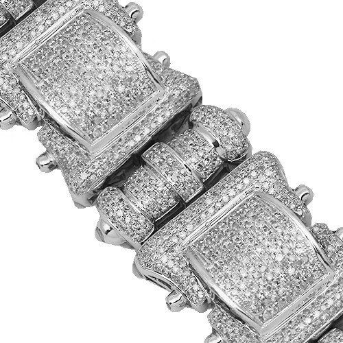 10K White Gold Mens Diamond Bracelet 12.00 Ctw Avianne & Co,http://www.amazon.com/dp/B005GWYBNO/ref=cm_sw_r_pi_dp_oLB-rb1EY6JA1B62