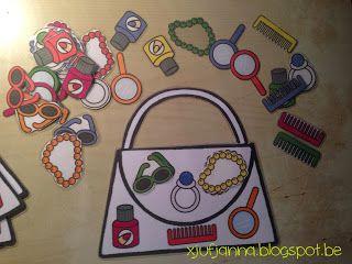 Handtasjesspel (foto 3) voor uitleg zie xjufjanna.blogspot.be
