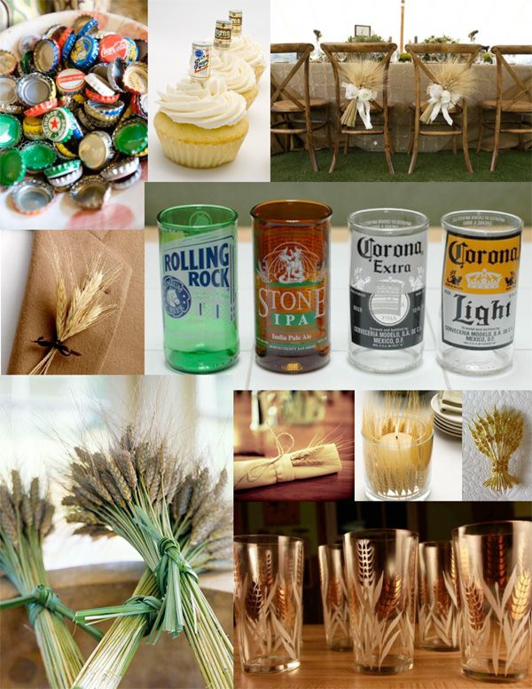 Matrimonio Tema Birra : Beer themed party plus this website has tons of other