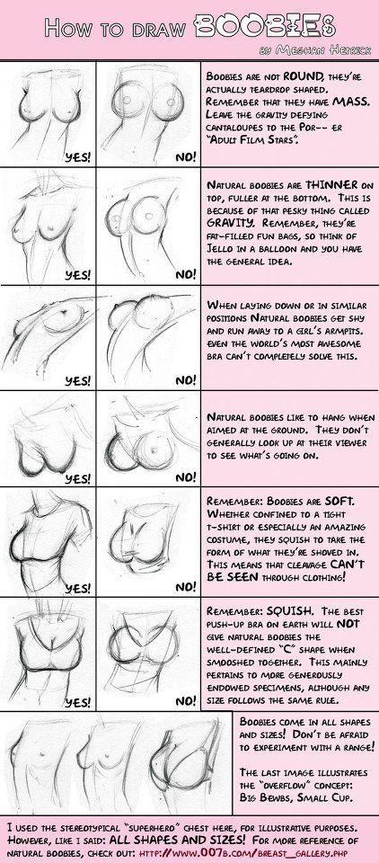 how to draw boobs ✤ || CHARACTER DESIGN REFERENCES | Find more at https://www.facebook.com/CharacterDesignReferences if you're looking for: #line #art #character #design #model #sheet #illustration #expressions #best #concept #animation #drawing #archive #library #reference #anatomy #traditional #draw #development #artist #pose #settei #gestures #how #to #tutorial #conceptart #modelsheet #cartoon