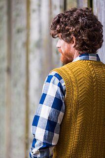 """Hunter,"" by Jared Flood, knit with Brooklyn Tweed Arbor."