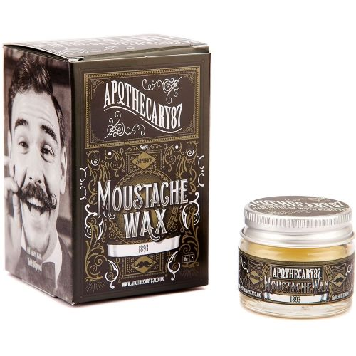 Wosk do wąsów Apothecary 87 #beard #beardcare #BeardManPL