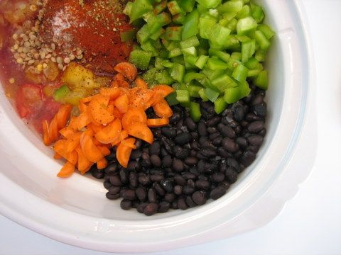 Vegetarian Crockpot meals..Most are soy free/dairy free/gluten fre