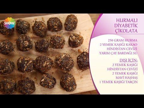 Hurmalı Diyabetik Çikolata Tarifi - YouTube