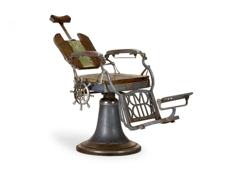 Friseurstuhl Barbierstuhl Frisör Stühle Metall Holz Retrodesign Antik Möbel neu in Antiquitäten & Kunst, Alte Berufe, Frisör & Barbier, Zubehör | eBay                                                                                                                                                                                 Mehr
