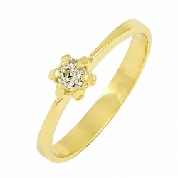 Gold Brilliant Ring