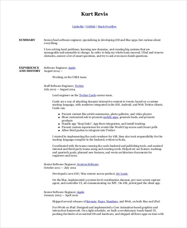 Pin On Resume Template Job