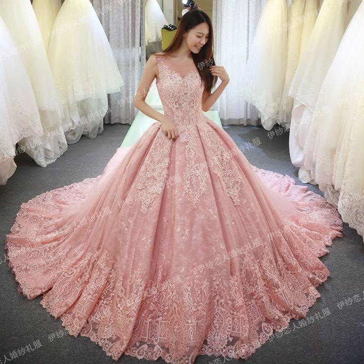 Mejores 741 imágenes de Wedding Dresses en Pinterest | Vestidos de ...