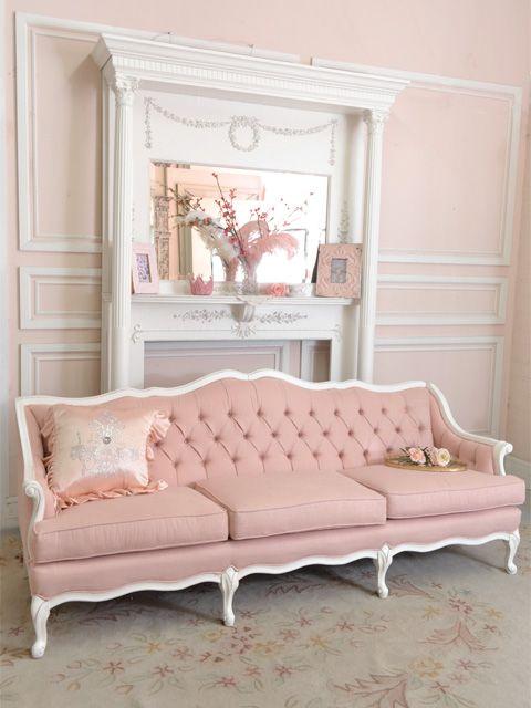 beautiful french sofa