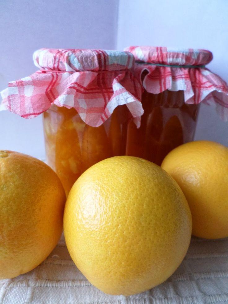 18. PRZEPIS NR 11 - KONFITURA Z POMARAŃCZY      Parę dni temu naszła mnie ochota nadomową produkcjękonfitur z pomarańczy.Przewertowałam s...