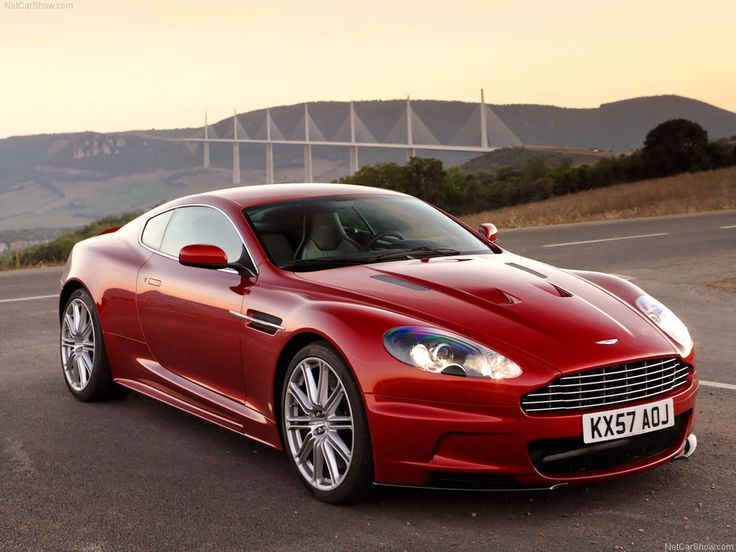 Aston DBS - the perfect car - actually should be called the DB9S :)