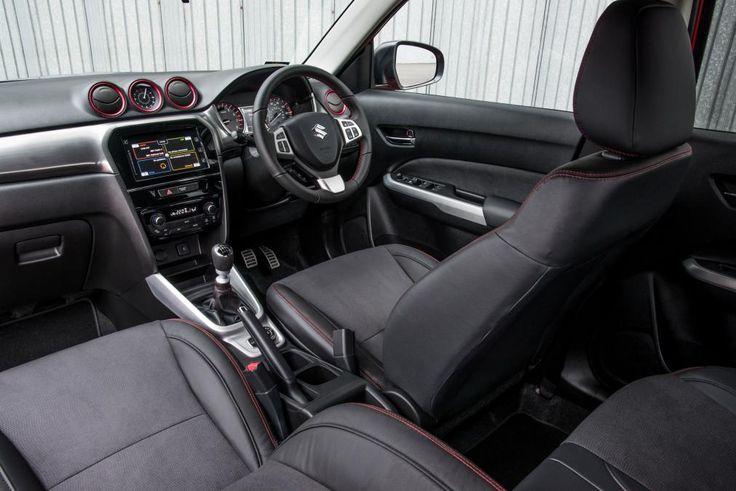 Suzuki Vitara S Boosterjet Compact SUV Interior