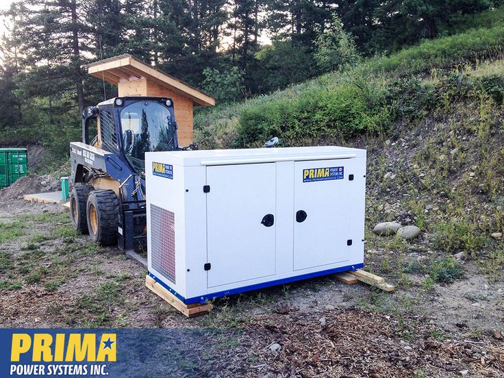 Here's a #Generator we delivered to #Lumby. BC. The customer was starting a small farm, off the grid. #agricultural #offgridliving #onan