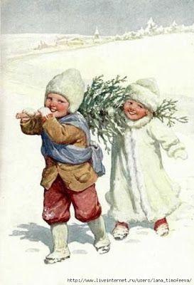 Сегодня на горке веселье и смех,    И радости нету границы.    Сегодня на землю упал первый снег -   И вся детвора веселится.   На ...