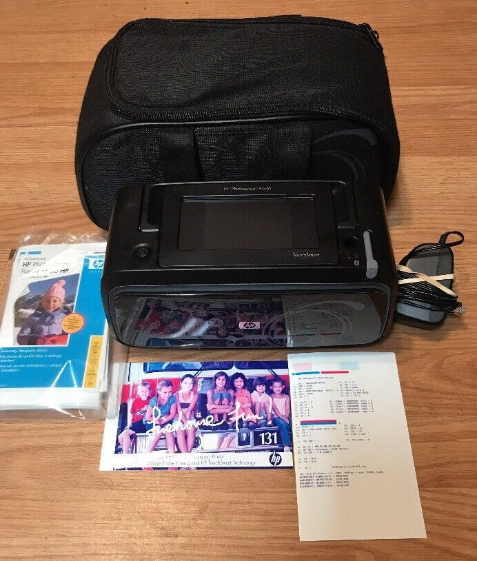 HP Photosmart A646 Digital Photo Inkjet Portable Bluetooth Printer #HP