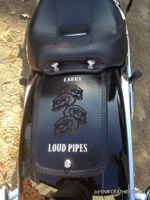 breakout custom fender bib _Larry Loud Pipes