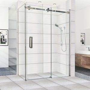 Wall To Wall Sliding Door Shower Screen