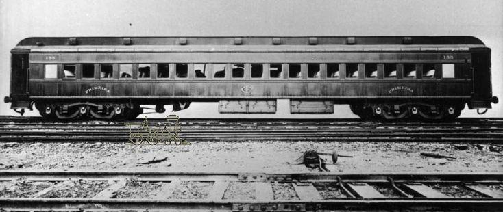 Vagão de Primeira Classe (antigo) do Trem de Aço da Companhia Paulista de Estradas de Ferro